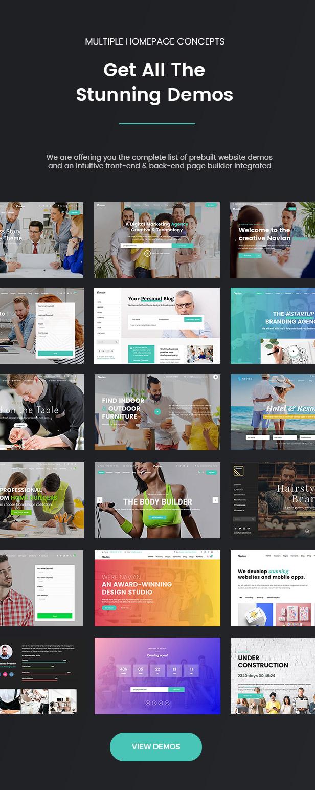 Navian - Multi-Purpose Responsive WordPress Theme Download