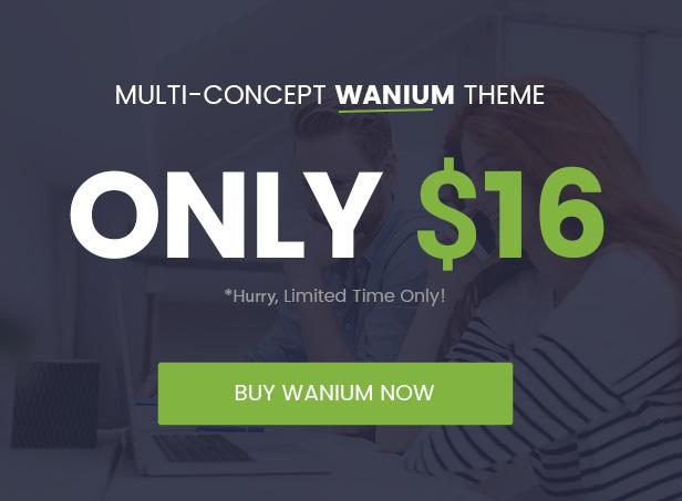 saleoff 16 - Wanium - A Elegant Multi-Concept Theme